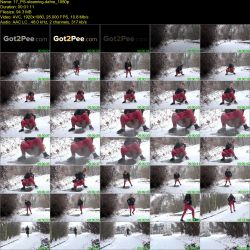 Dafne - Powerful steaming piss stream! (FullHD 1080p)