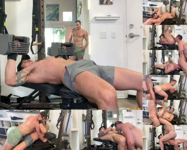 NextDoorHomeMade - Michael Boston & Dakota Payne - Weight Bench Suck & Fuck