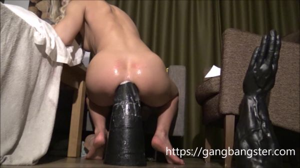 Dildo - Sexy Teen Rides Huge Tower from Gngbngster  with Siswet19 (FullHD/1080p) [2020]