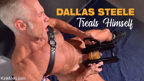 KinkMen - Dallas Steele Treats Himself