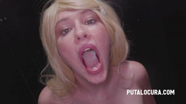 Meraki  - They cum in her mouth and pussy (26.11.2020) [HD 720p] (Putalocura)