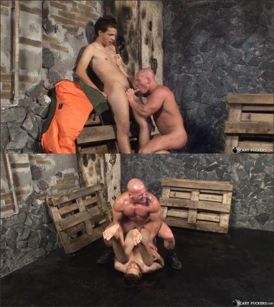 ScaryFuckers - Skinheads Torture Room Scene #02 Alfredo Castaldo & Brand Shay