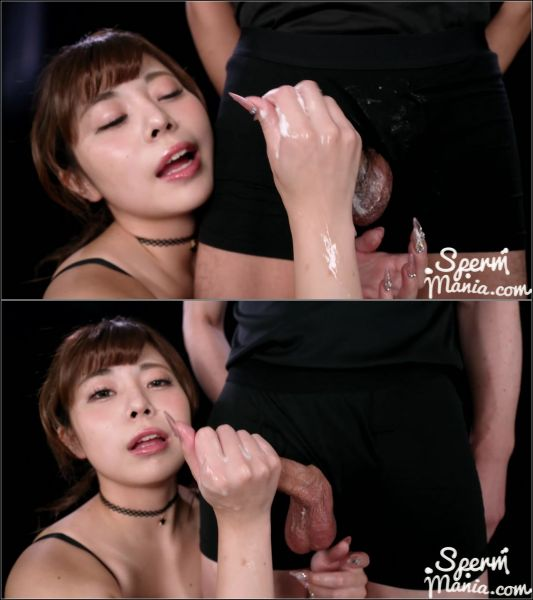 Misa -  Jacks Off A Group of Guys With Cum (27.11.2020) [FullHD 1080p] (Handjob)