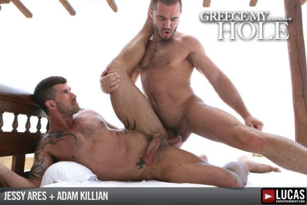 LE - Adam Killian and Jessy Ares' Action-Packed Fuck - Auditions 47 Greece My Hole