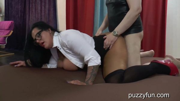 """Puzzyfun - We """"HAVE"""" to fuck her Ashley says (02.12.2020) with Ashley Cumstar  (FullHD/1080p) [2020]"""