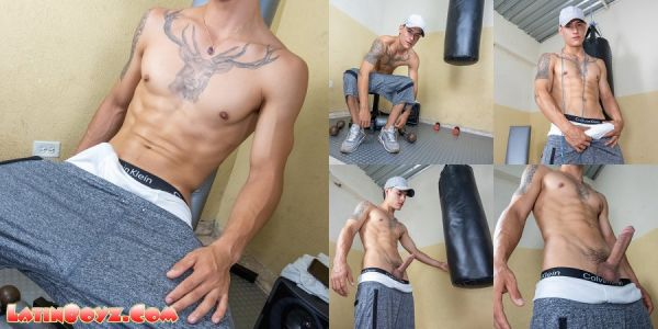 LB - Naked Latino Boxer Cezar