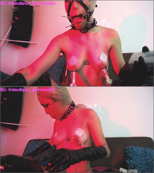 KinkyMedusa - masochistic fetish girlfriend (HD/2020) by Dildo