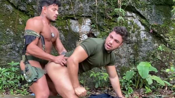 OF - Alejo Ospina and Daniel Montoya - Military Guys