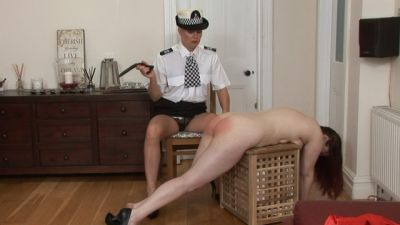 SpankedCheeks - Punished At Home - Miss Lina, Melanie Graham