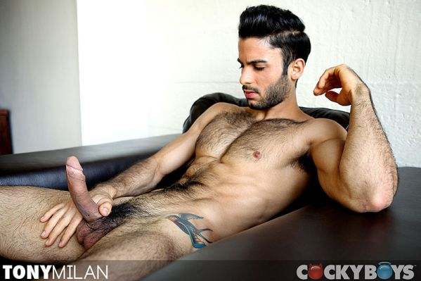 Cockyboys - Tony Milan - Opens up and Unloads