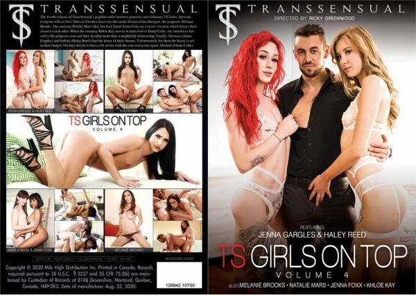Haley Reed, Jenna Foxx, Khloe Kay, Natalie Mars, Melanie Brooks, Jenna Gargles  - TS Girls On Top Vol.4 [FullHD 1080p] (Transsensual)