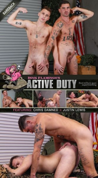 ActiveDuty Enlistee Justin Lewis Gets Fucked By Chris Damned
