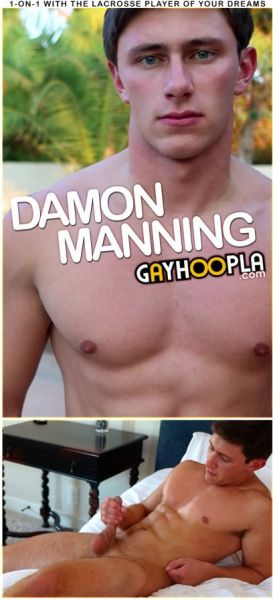 GH - Damon Manning Gives Himself A Facial!