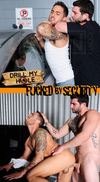 MN - DrillMyHole - Fucked By Security - Bryce Star , Tony Paradise