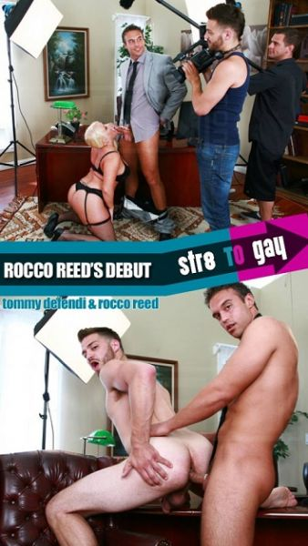 MN - Str8toGay - Rocco Reed's Debut - Tommy Defendi , Rocco Reed