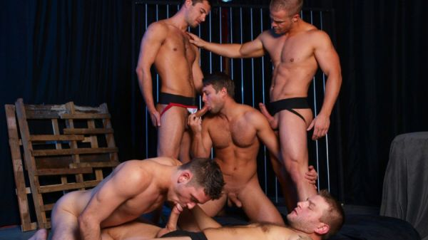 MN - Jizz Orgy - Spice it Up - Bobby Clark, Colby Jansen, Donny Wright, Duncan Black and Liam Magnuson
