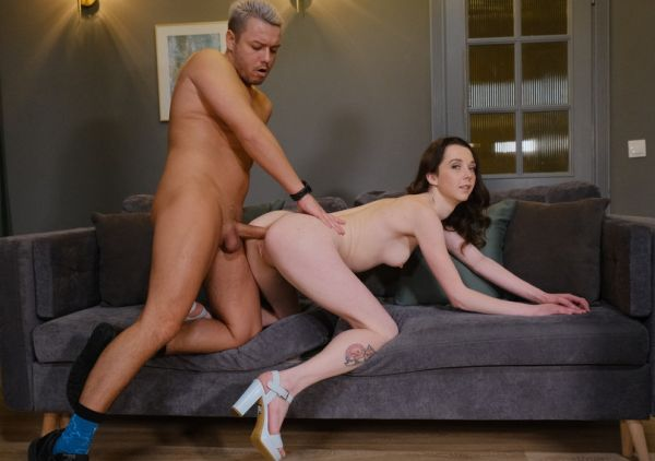 LegalP0rno: Ekaterina Smit - Nick's Anal Casting with cute Ekaterina Smit (First Anal)! Welcome to Porn with Balls Deep Anal, Gapes and Cum in Mouth NRX061 (HD/720p)