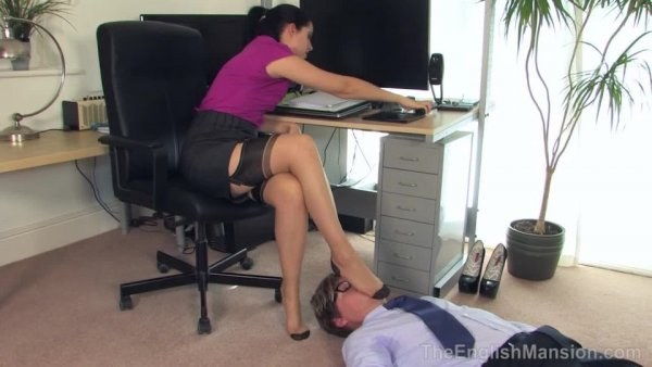 Miss Tiffany Naylor - The Boss's Stockings