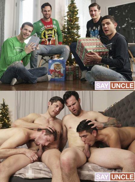 TwinkTrade - Beau Reed, Benjamin Blue, Rocky Vallart, Alex Montenegro - It's Christmas, Boys!