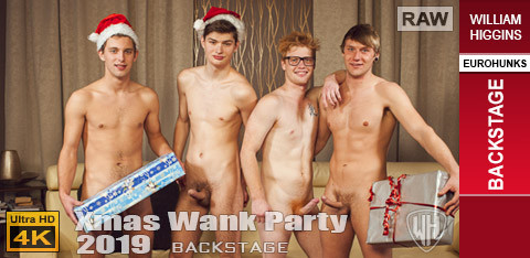 WH - Xmas Wank Party 2019 RAW - BACKSTAGE