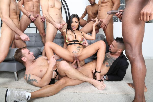 LegalP0rno: Polly Pons - 8on1 Double Anal Crempie, Polly Pons Airplane with Balls Deep Anal, DAP, Gapes, Almost Buttrose and Creampie GIO1668 (HD/720p)