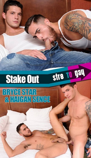 MN - Str8 To Gay - Stake Out 2 - Bryce Star & Haigen Sence