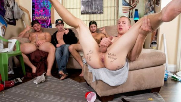RD - Dick Dorm - Please Fuck Me Hard - Charlie Pattinson, Johnny Cohen, Tobias, Trevor Long