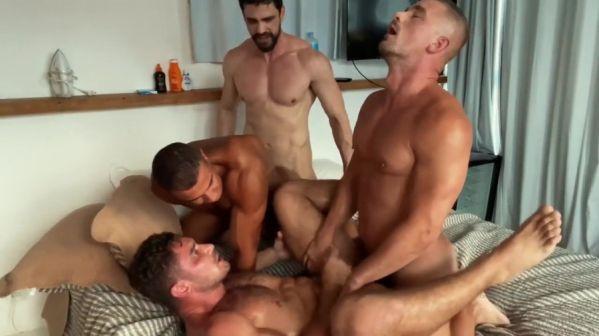 OF - Foursome with Dato Foland, caioflta20, carioca & polaco