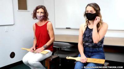 School Swats: Kaylee And Corrie (part 1 Of 2)