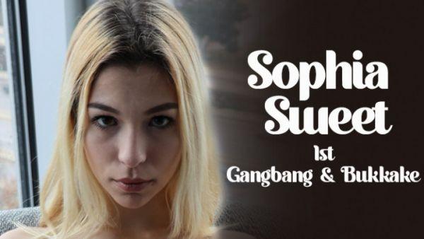 Gangbang - 1st - Gangbang & Bukkake (16.01.2021) with Sophia Sweet (UltraHD/4K/2160p) [2021]