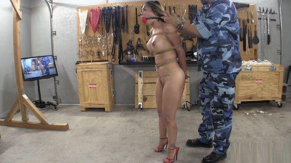 Dirty Girl Hogtied Part 1