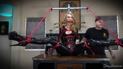 Shiny Bound – PVC Bondage Goddess