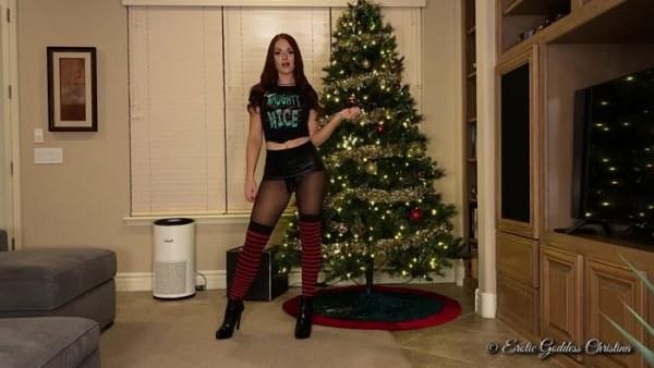 Goddess Christina - Merry Christmas Ya Filthy Anim@l