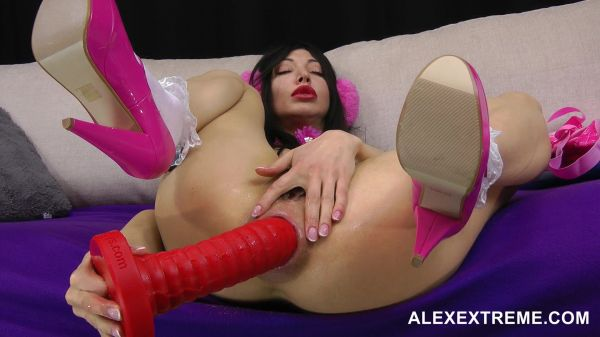 Hotkinkyjo - Alex Extreme - Hotkinkyjo pumped pucker long dildo and anal prolapse (FullHD 1080p) [2021]