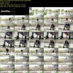 Pee good in the rain (FullHD 1080p)