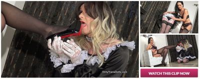 Dirty Trans Dolls – High stakes for the new maid