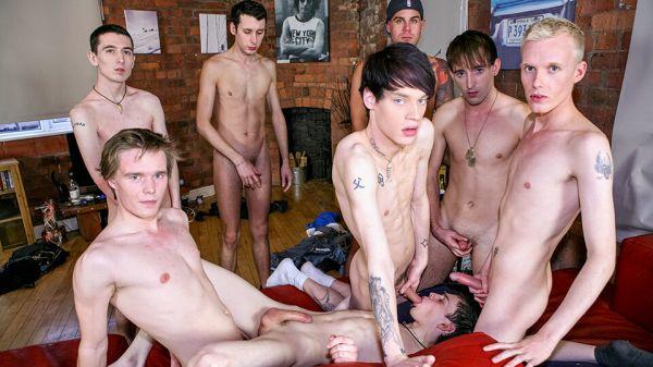 TXMS - Party Time For Cock-Crazed Boys - Part 1