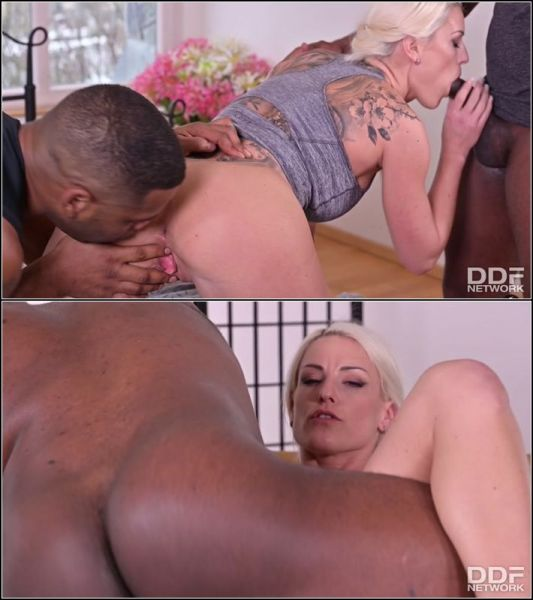 Well. Endowed Czech Blonde Gets 2 BBCs At Once  with Blanche Bradburry  (HD/720p) [2021]