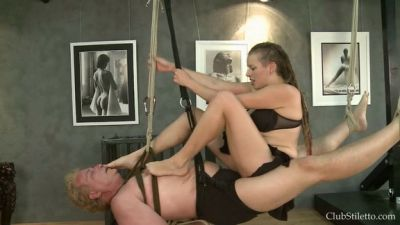 Clubstiletto – Bound to be Her human Swing – Lady Leilana