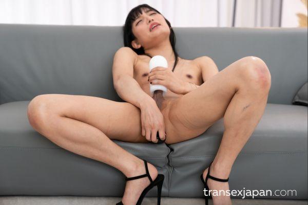Kaoru Hanayama -  Cock Masturbation (12.02.2021) (TransJapan/FullHD/2021)
