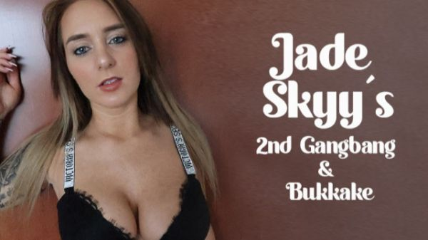 Jade Sky - Jade Sky's - 2nd Gangbang & Bukkake (13.03.2021) [FullHD 1080p] (Bukkake)
