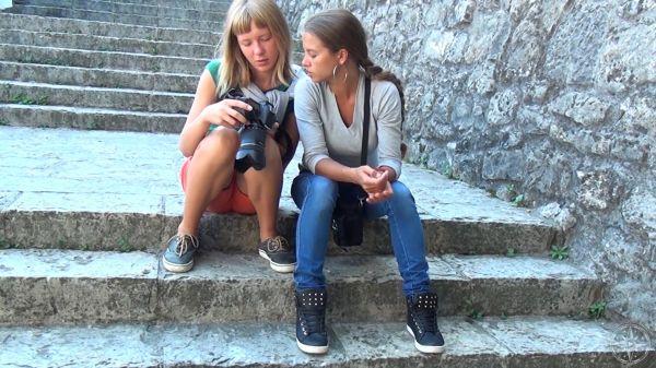Pilgrim Girl Art Beauty of Montenegro videos 14 - 15