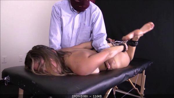 Tickling 11912-Ava extreme hogtied tickle torture