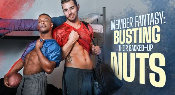 Carter Woods, Adrian Hart - Member Fantasy - Busting Their Backed-up Nuts