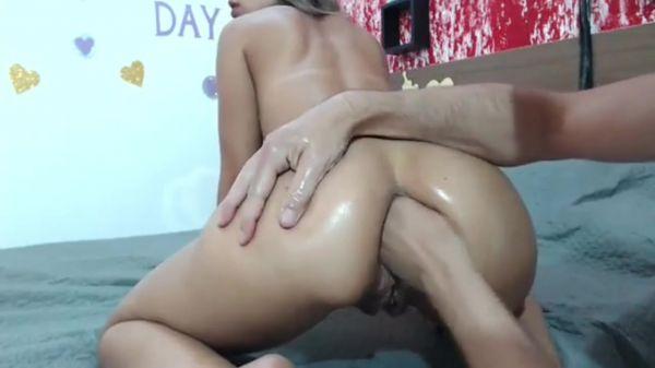 Rafaela  - Anal fist fucking toilet slut (13.03.2021) [HD 720p] (Sicflics)
