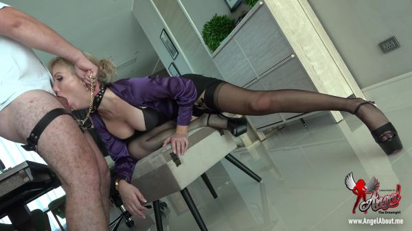 Clip4sale: Angel The Dreamgirl - The Boss Messed Up His Secretary (27.01.2021) (FullHD/1080p)