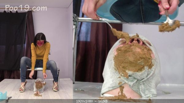 Extreme scat 1557-We urgently need a new toilet slave