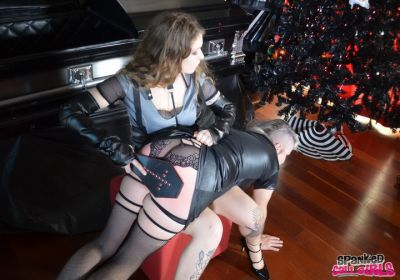 SpankedCallGirls – Wrong Costume Results In Spanking