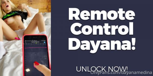 Dayana Medina OnlyFans Remote Control