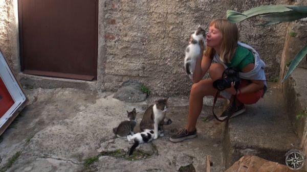 Pilgrim Girl Art Beauty of Montenegro video 16